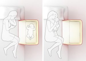 Cullette per neonati da affiancare al letto