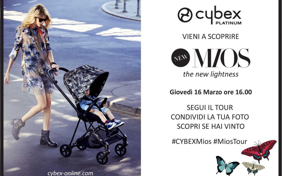 La Casa del Bebè ospita la presentazione di Cybex Mios