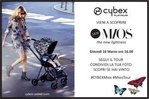 cybex mios tour