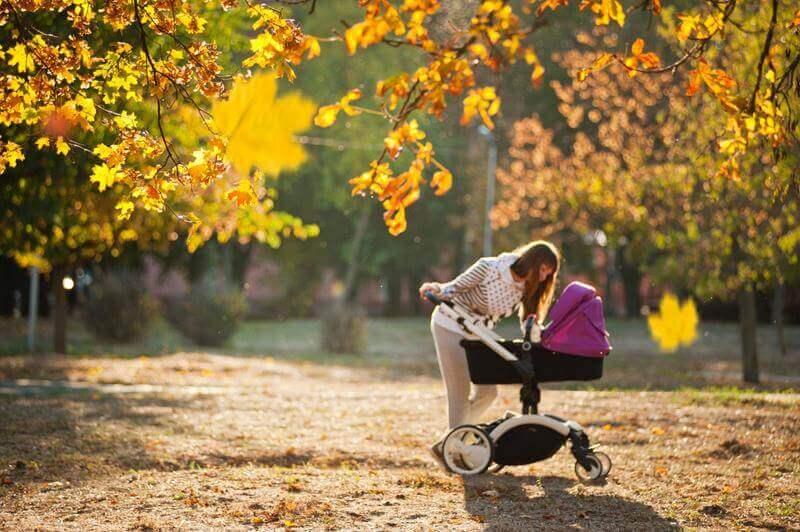 Carrozzini neonati: passeggiate e relax
