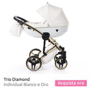 trio diamond 2019 bianco e oro