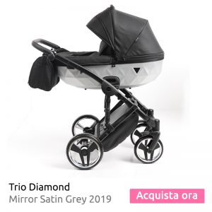 trio diamond 2019 bianco nero
